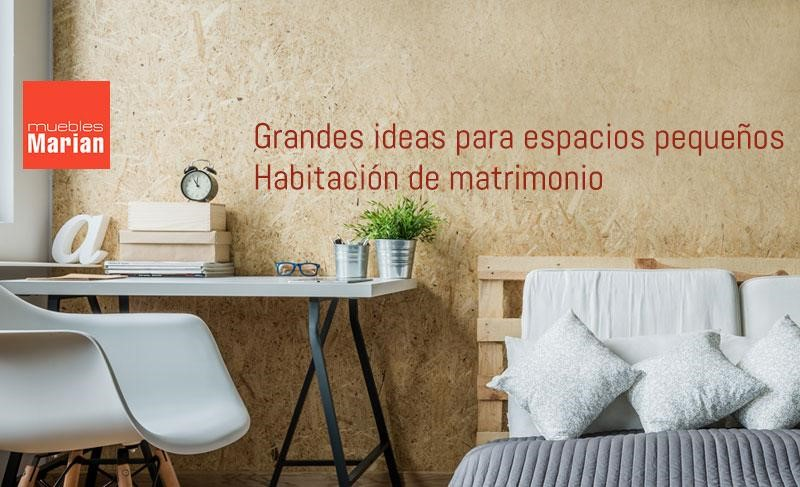 ideas dormitorio matrimonio