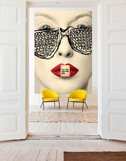 Estilo de decoraci n pop art bienvenido color muebles - Muebles pop art ...